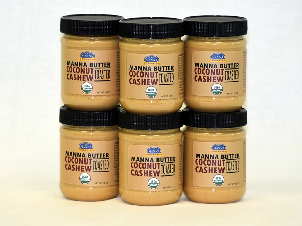 Case of 6 Manna Nut Butters Coconut Cashew